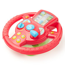 Buy John Lewis Interactive Steering Wheel Toy Online at johnlewis.com