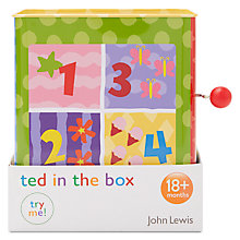 Buy John Lewis Teddy Jack In The Box Online at johnlewis.com