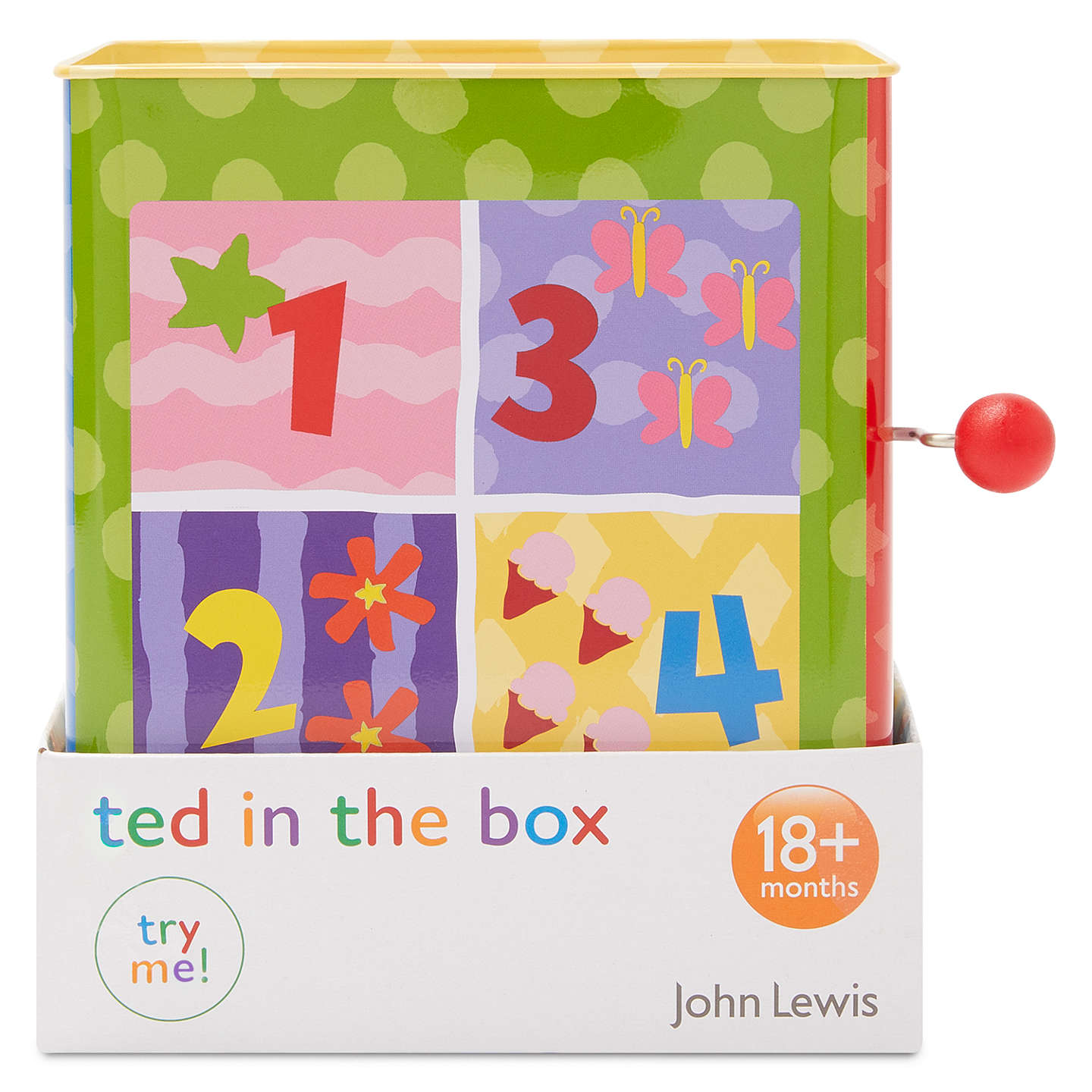 BuyJohn Lewis Teddy Jack In The Box Online at johnlewis.com