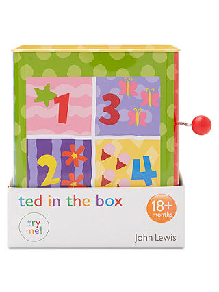 Buy John Lewis & Partners Teddy Jack In The Box Online at johnlewis.com