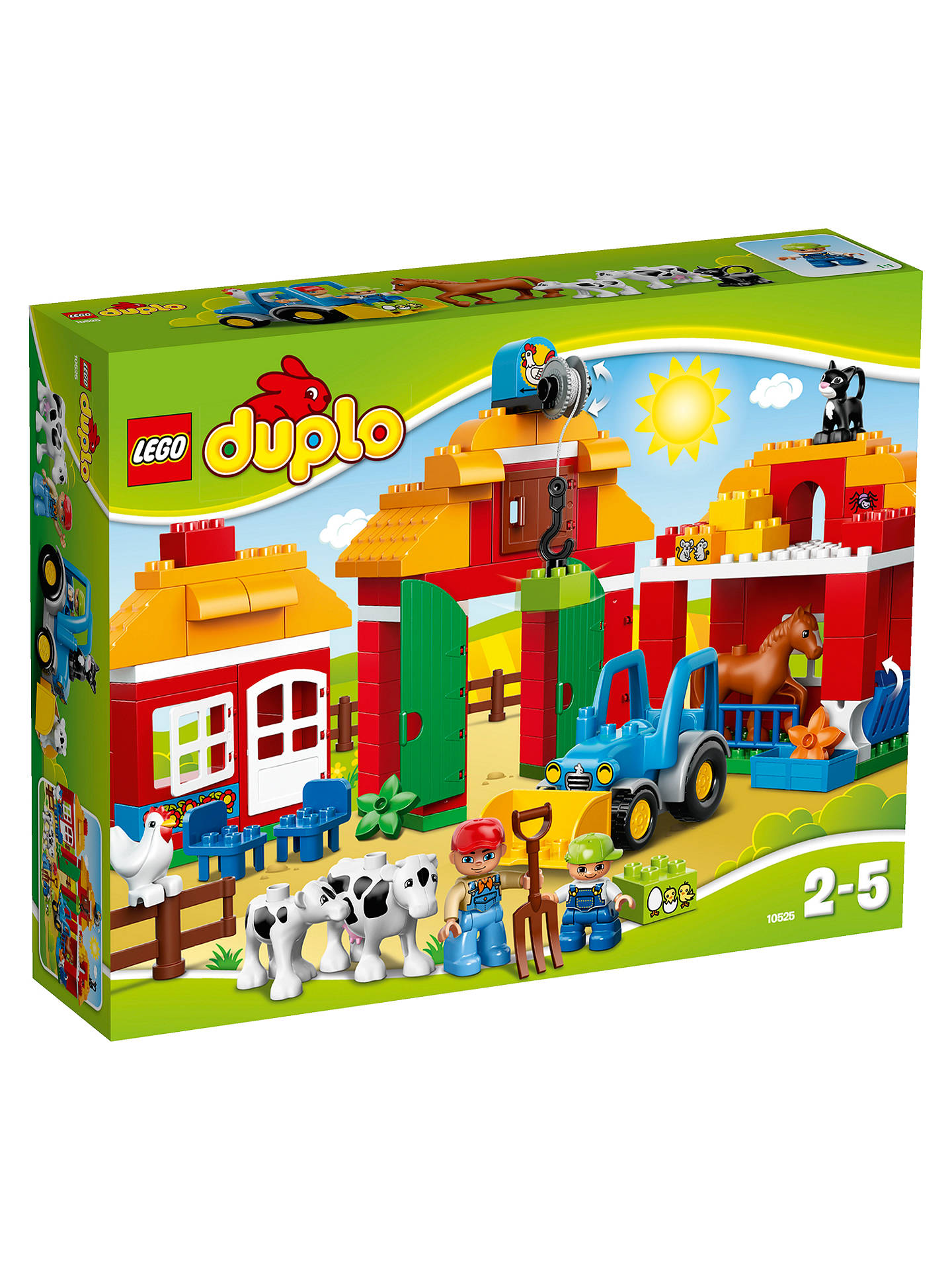 Lego Duplo 10525 Big Farm At John Lewis Partners