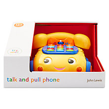 Buy John Lewis Talk And Pull Phone Toy Online at johnlewis.com
