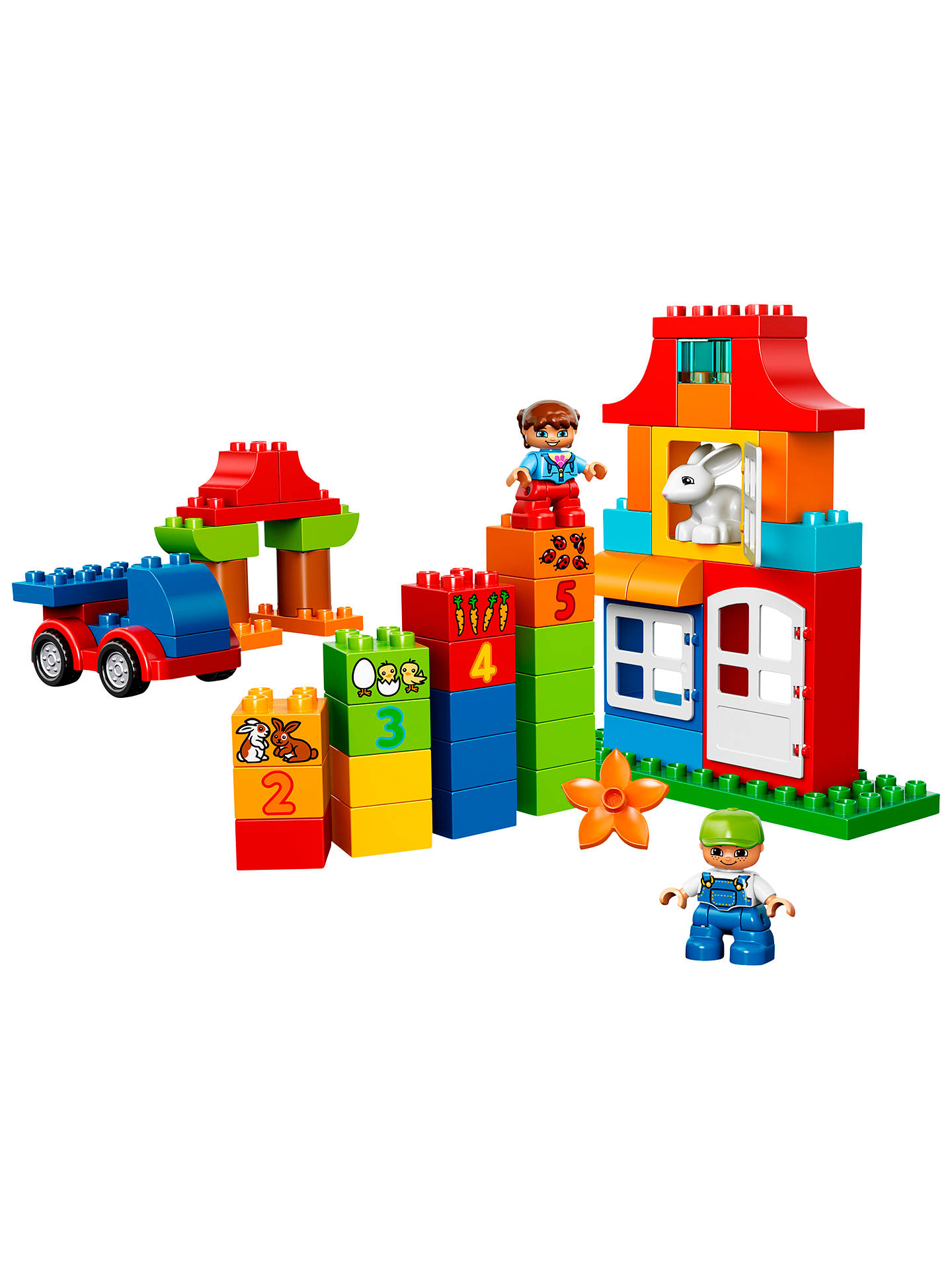 LEGO DUPLO 10580 Deluxe Box Of Fun at John Lewis & Partners