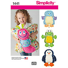 Buy Simplicity Animal Cushions Sewing Pattern, 1441 Online at johnlewis.com