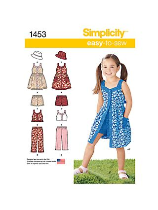 Dresses Children Sewing Patterns John Lewis Partners
