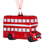 Buy John Lewis Tourism Glass London Bus Decoration, Red Online at johnlewis.com