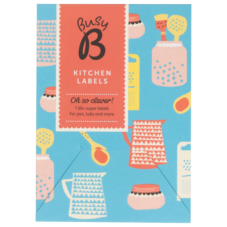 Ktwo Busy B Kitchen Labels at John Lewis