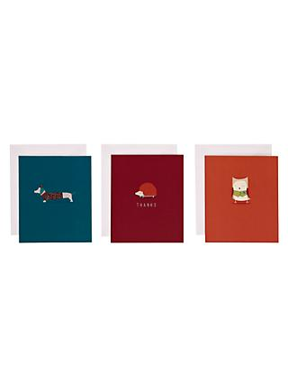 Notecards invitations john lewis art file frank thank you notecards pack of 12 stopboris Image collections