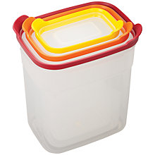 Buy Joseph Joseph Nest Tall Food Storage Containers, Set of 3 Online at johnlewis.com