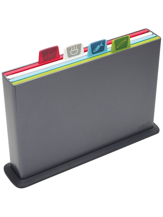 Buy Joseph Joseph Index Advance Chopping Board Set, Large, Graphite Online at johnlewis.com