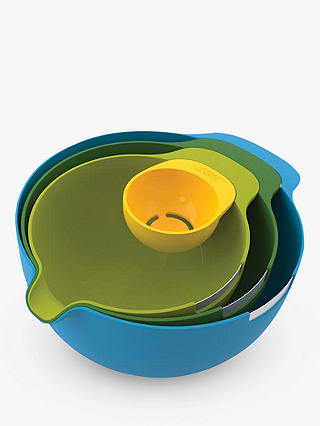 Buy Joseph Joseph Nest Mixing Bowl Set, 4 Piece, Multicolour Online at johnlewis.com