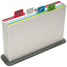 Buy Joseph Joseph Index Advance Chopping Board Set, Silver Online at johnlewis.com