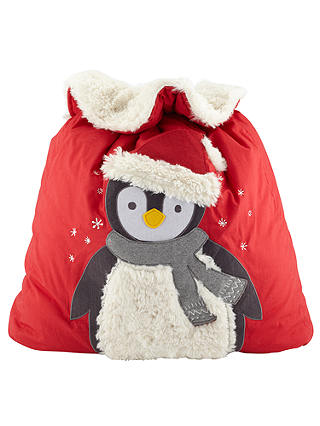 Buy John Lewis Penguin Sack, Red Online at johnlewis.com