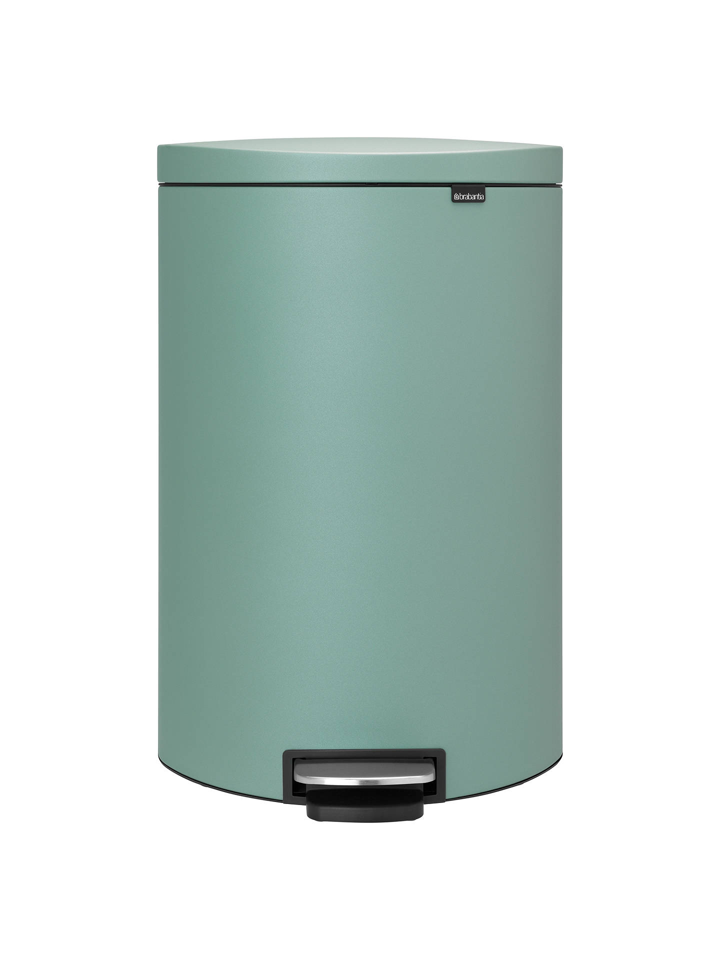 Buy Brabantia FlatBack+ Pedal Bin, Mint, 40L Online at johnlewis.com