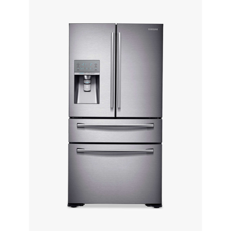 samsung rf24hsesbsr 4 door fridge freezer stainless steel. Black Bedroom Furniture Sets. Home Design Ideas