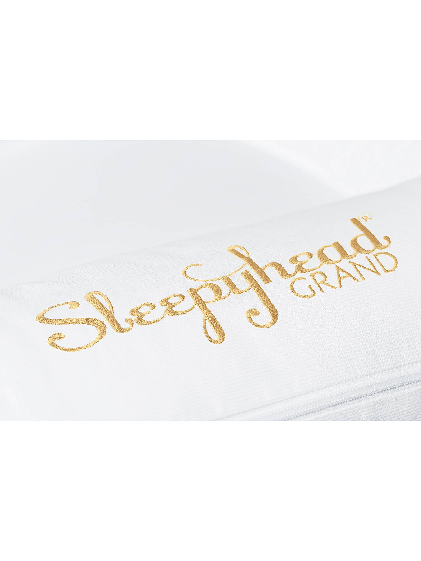 Buy Sleepyhead Grand Pristine White Baby Pod, 9-36 months Online at johnlewis.com