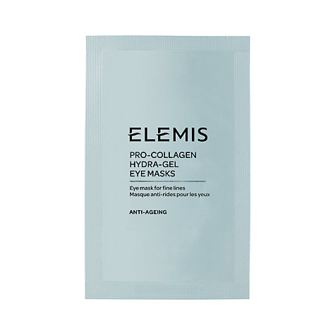 Buy Elemis Pro-Collagen Hydra-Gel Eye Masks x6 Online at johnlewis.com