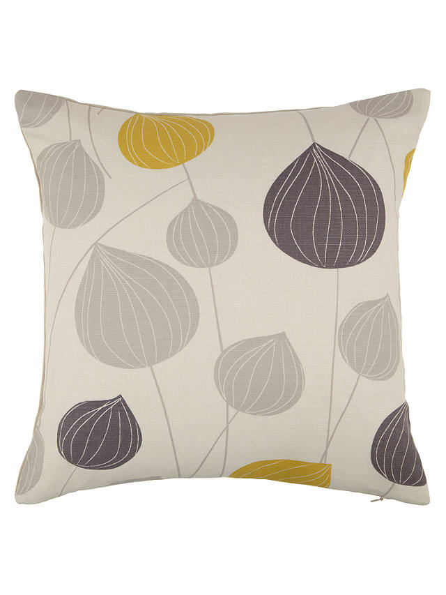 Buy John Lewis Lanterns Cushion, Steel / Citrine Online at johnlewis.com