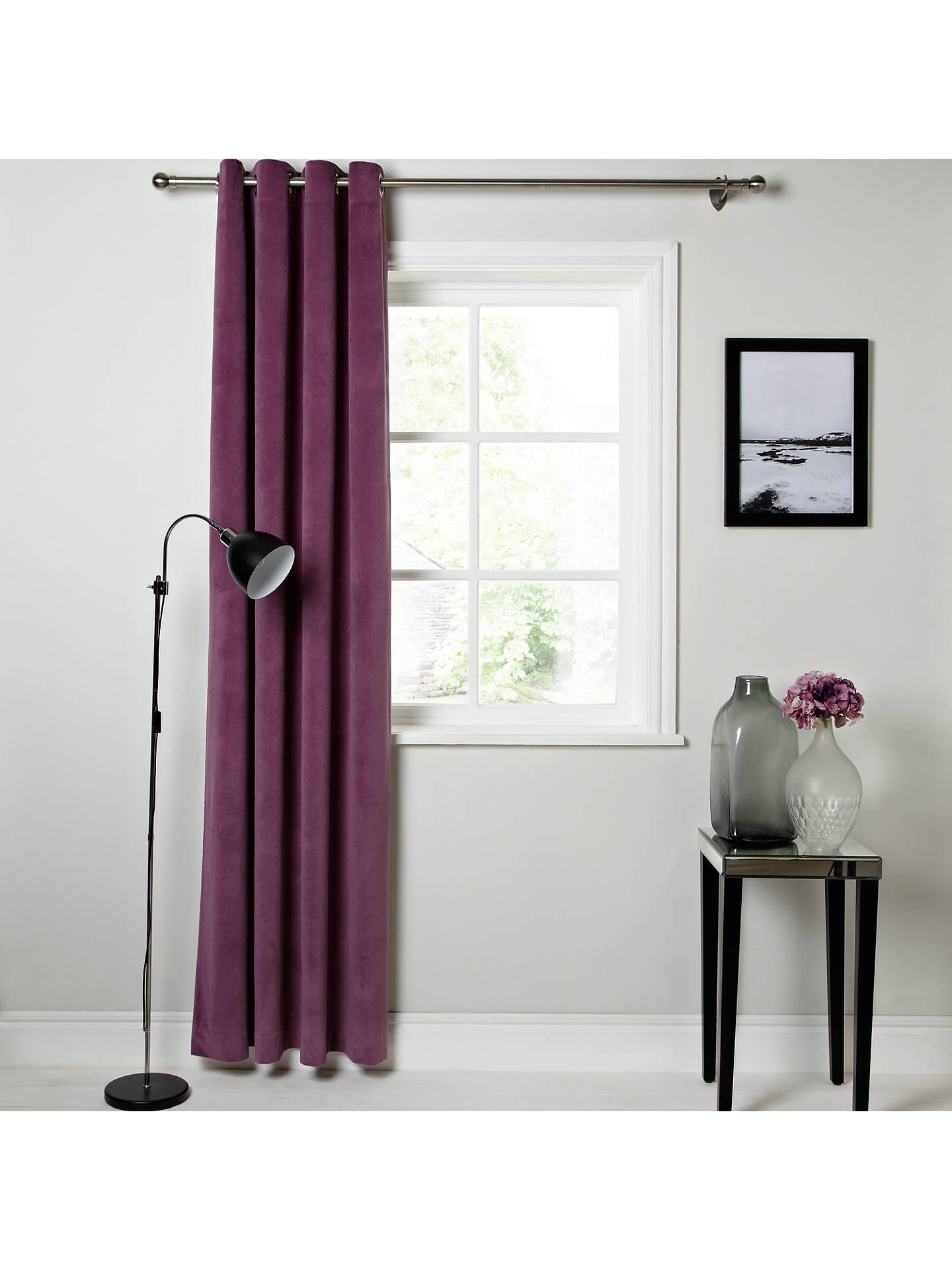 john lewis erba single panel lined eyelet curtain at john. Black Bedroom Furniture Sets. Home Design Ideas