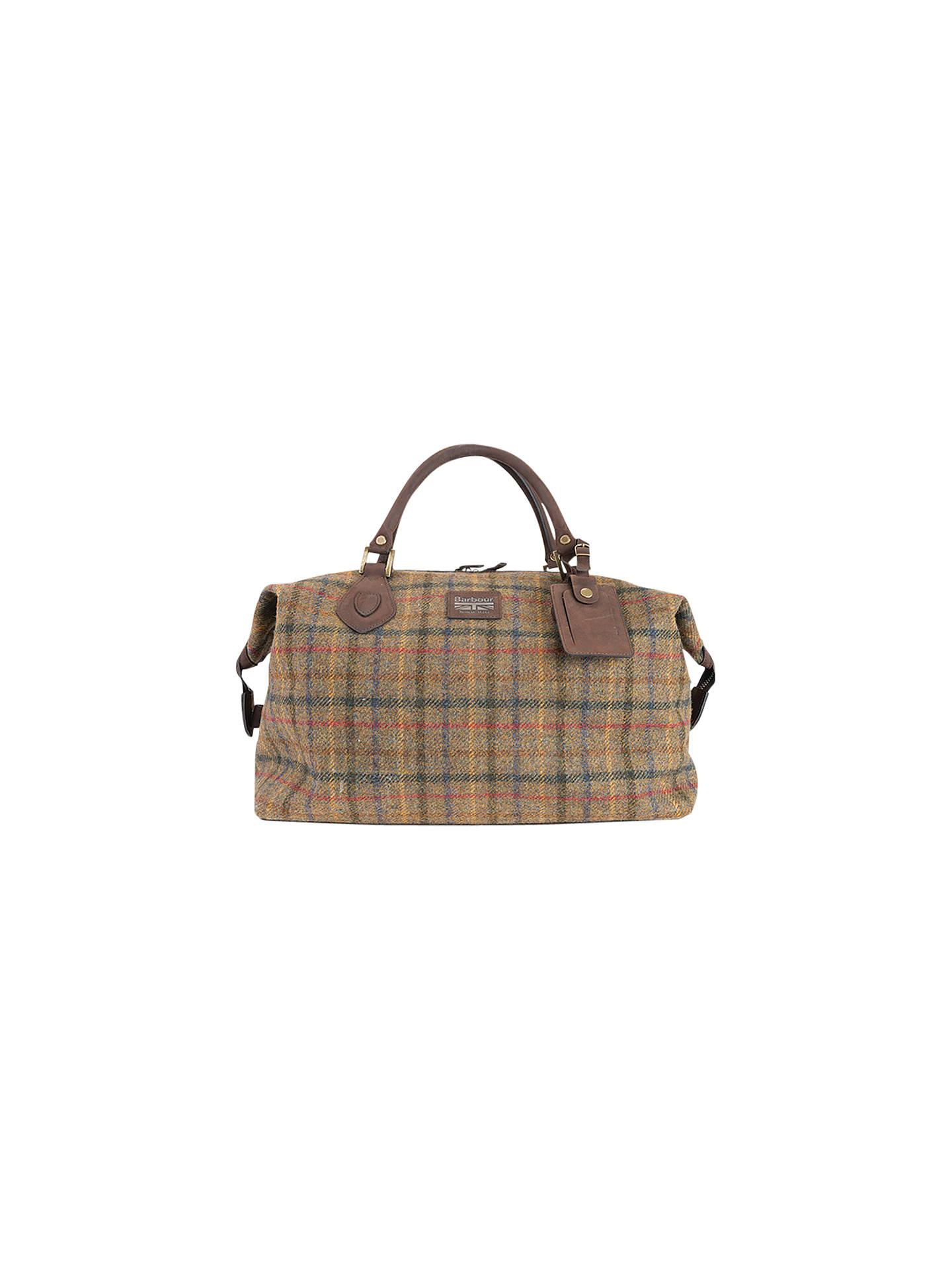 1c94d051634 BuyBarbour Tweed Explorer Bag, Olive Online at johnlewis.com