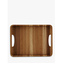 Buy John Lewis Oak Wood Tray, H4 x L26 x W34cm Online at johnlewis.com