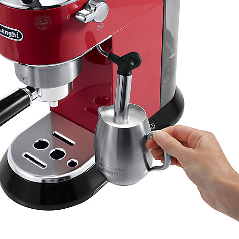 Buy De'Longhi EC680 Dedica Pump Espresso Coffee Machine, Red Online at johnlewis.com