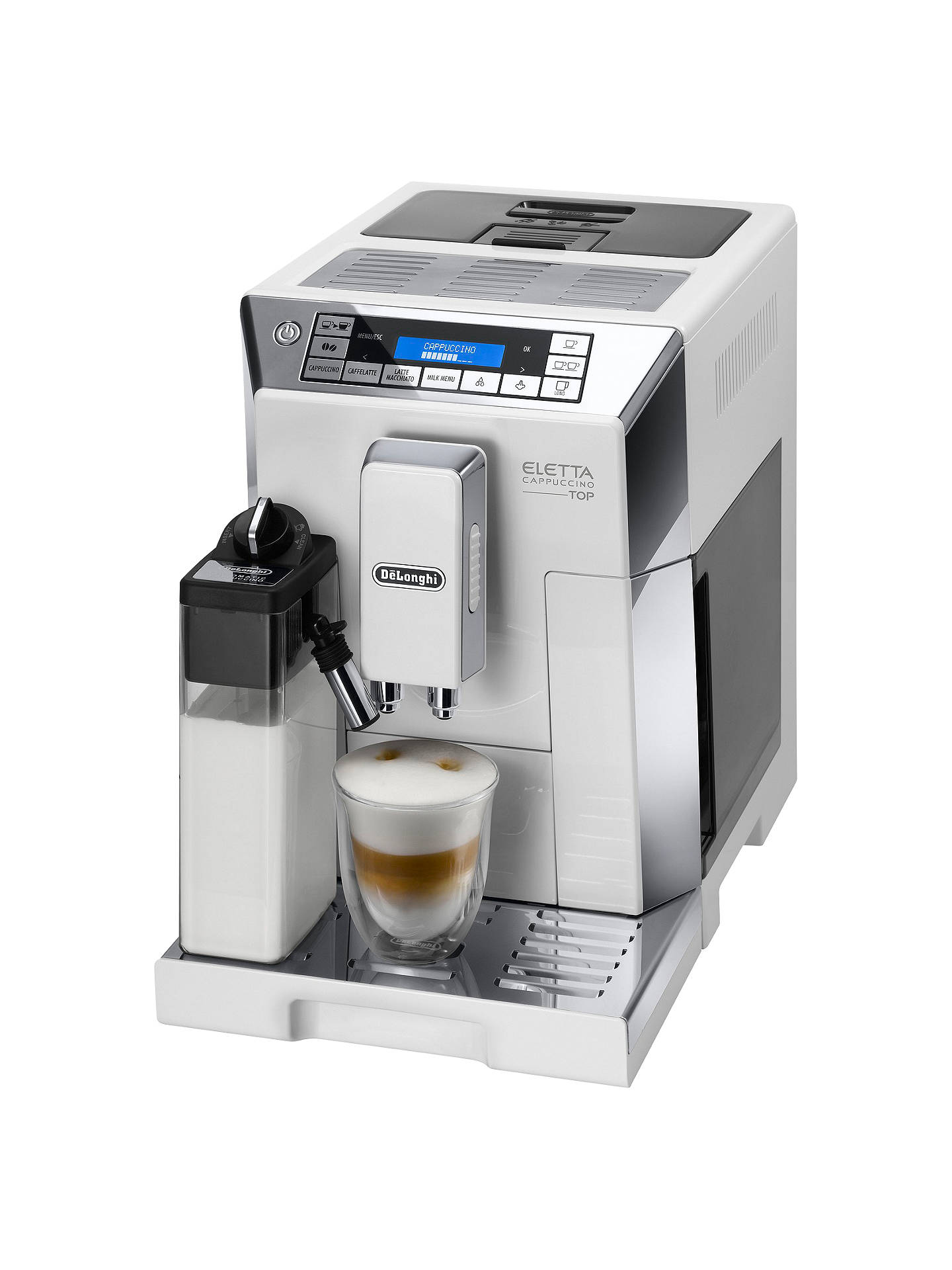 760 Ecam45 Bean Flat Cup White To Coffee De'longhi Machine Eletta 0nwOk8P
