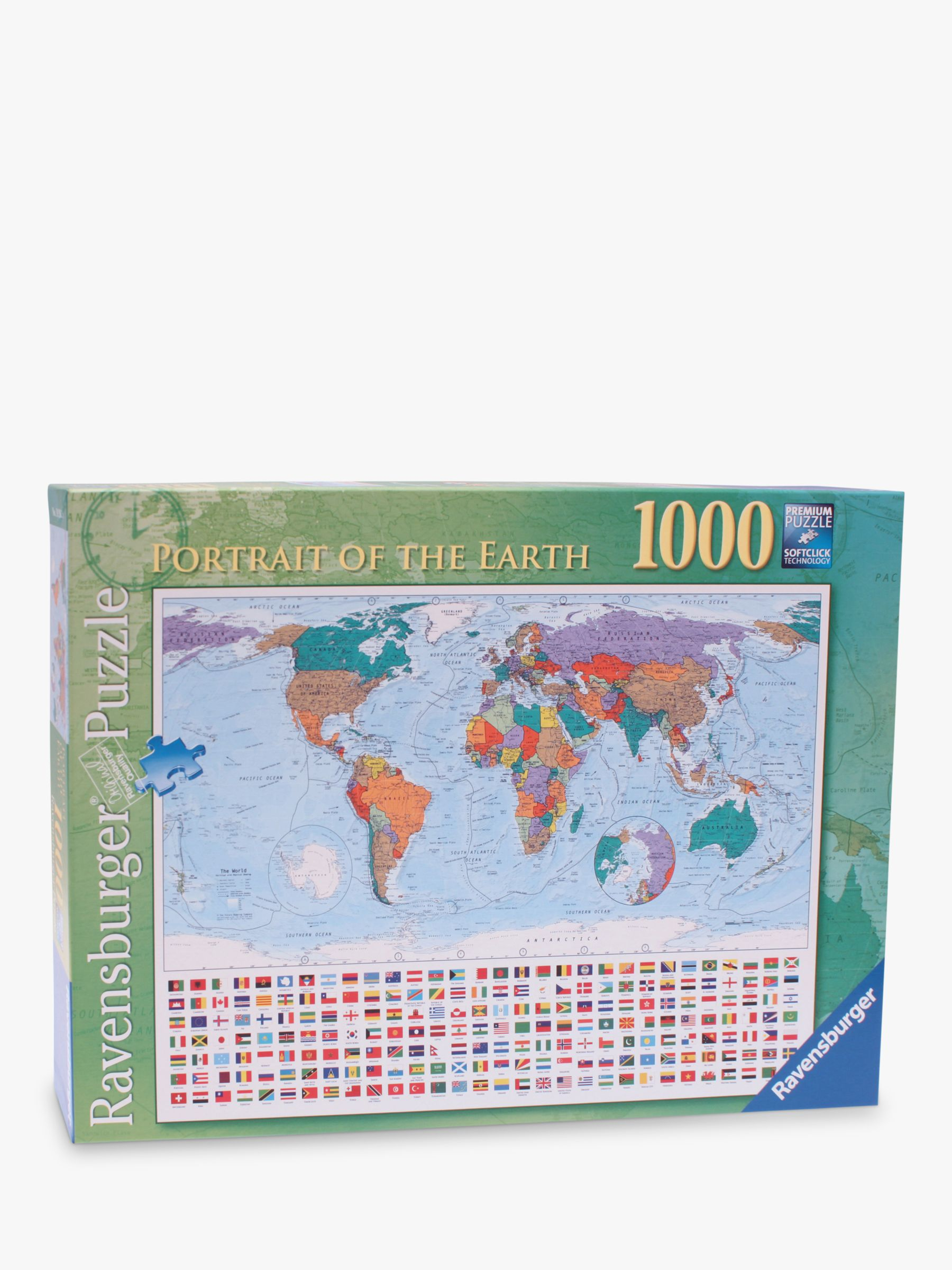 Ravensburger portrait of the earth 1000 piece jigsaw puzzle at john ravensburger portrait of the earth 1000 piece jigsaw puzzle at john lewis partners gumiabroncs Images
