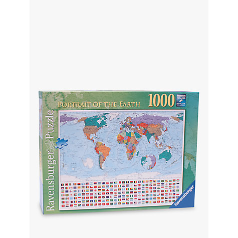 Buy Ravensburger Portrait of the Earth 1000 Piece Jigsaw Puzzle Online at johnlewis.com