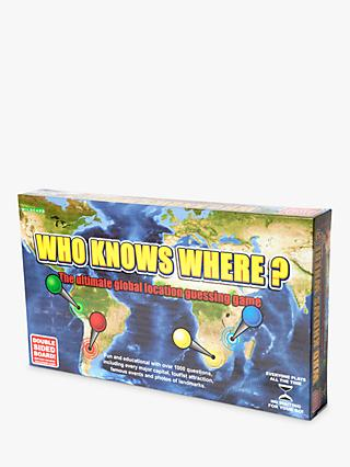 Wildcard Games Who Knows Where? – Global Location Guessing Board Game