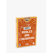 Buy Ginger Fox, Mensa Riddles & Conundrums Online at johnlewis.com