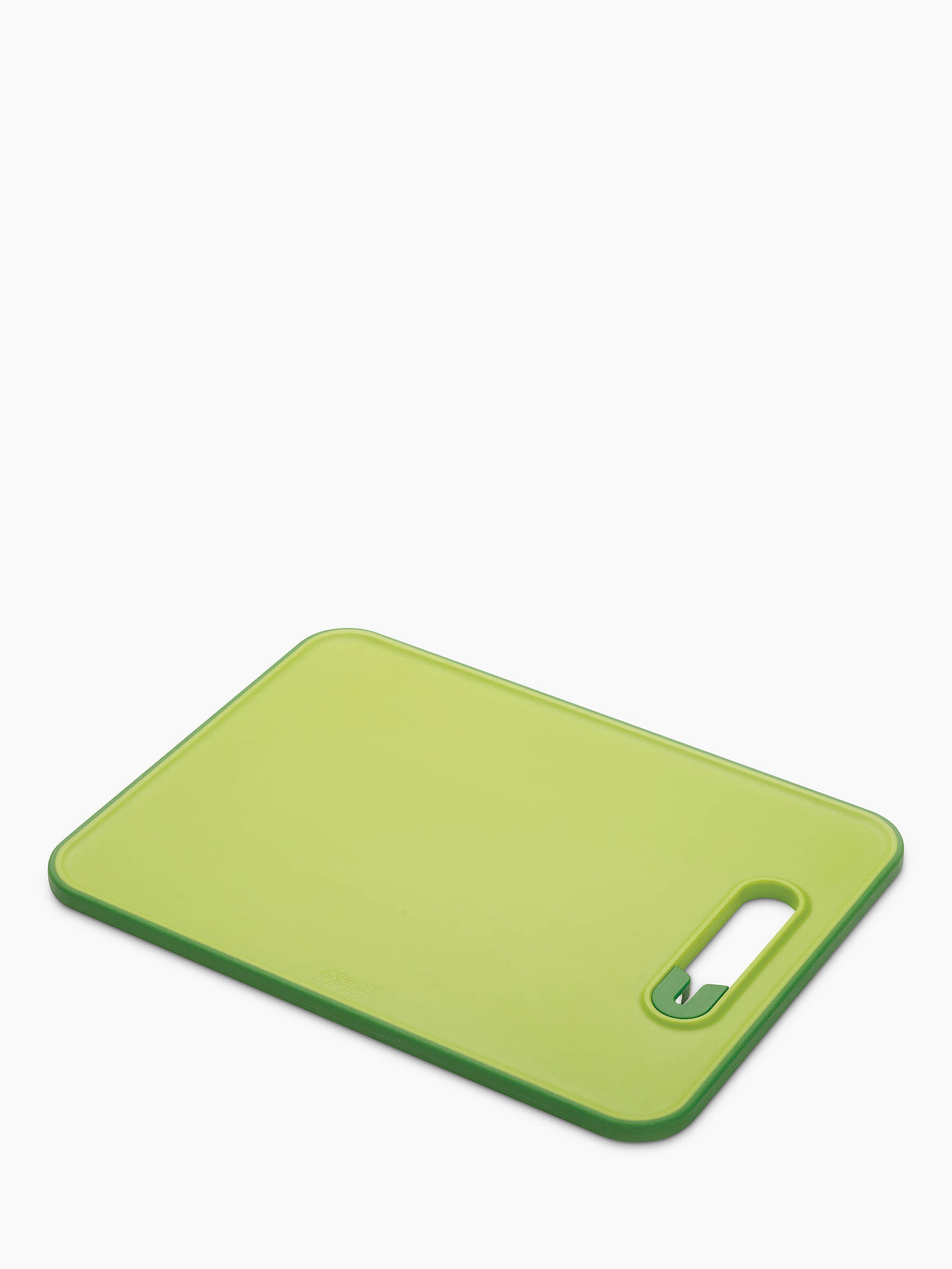 BuyJoseph Joseph Slice and Sharpen Chopping Board, Small, Green Online at johnlewis.com