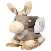 Buy Nattou Donkey Rocker, Cappuccino Online at johnlewis.com