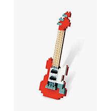 Buy Nanoblock Mini Electric Guitar Online at johnlewis.com