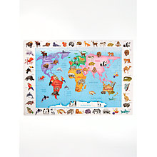 Buy John Lewis Animals Of World Floor Jigsaw Puzzle Online at johnlewis.com