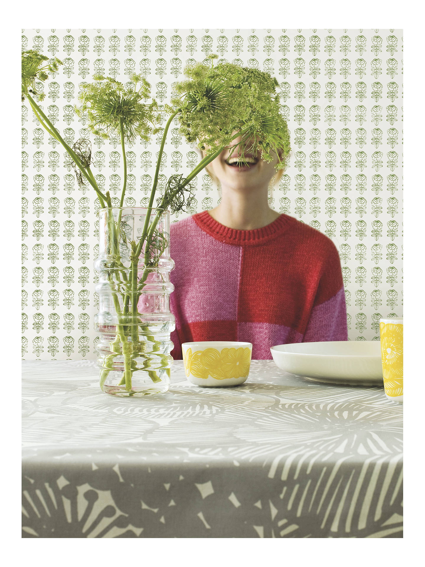 Buy Marimekko Pikkuruusu Wallpaper, 17941 Online at johnlewis.com