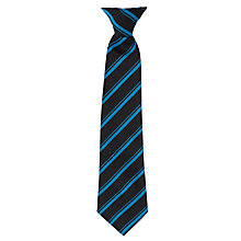Buy Caterham High School Clip-On-Tie, Blue/Navy Online at johnlewis.com