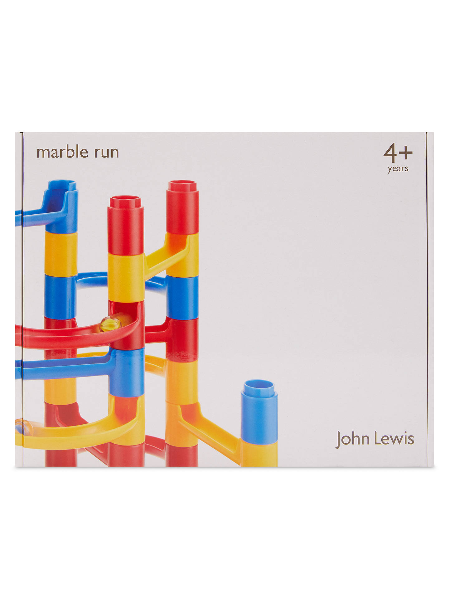 Buy John Lewis & Partners Marble Run Game Online at johnlewis.com