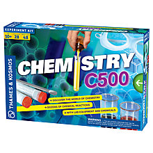 Buy Thames & Kosmos Chemistry C500 Experiment Set Online at johnlewis.com