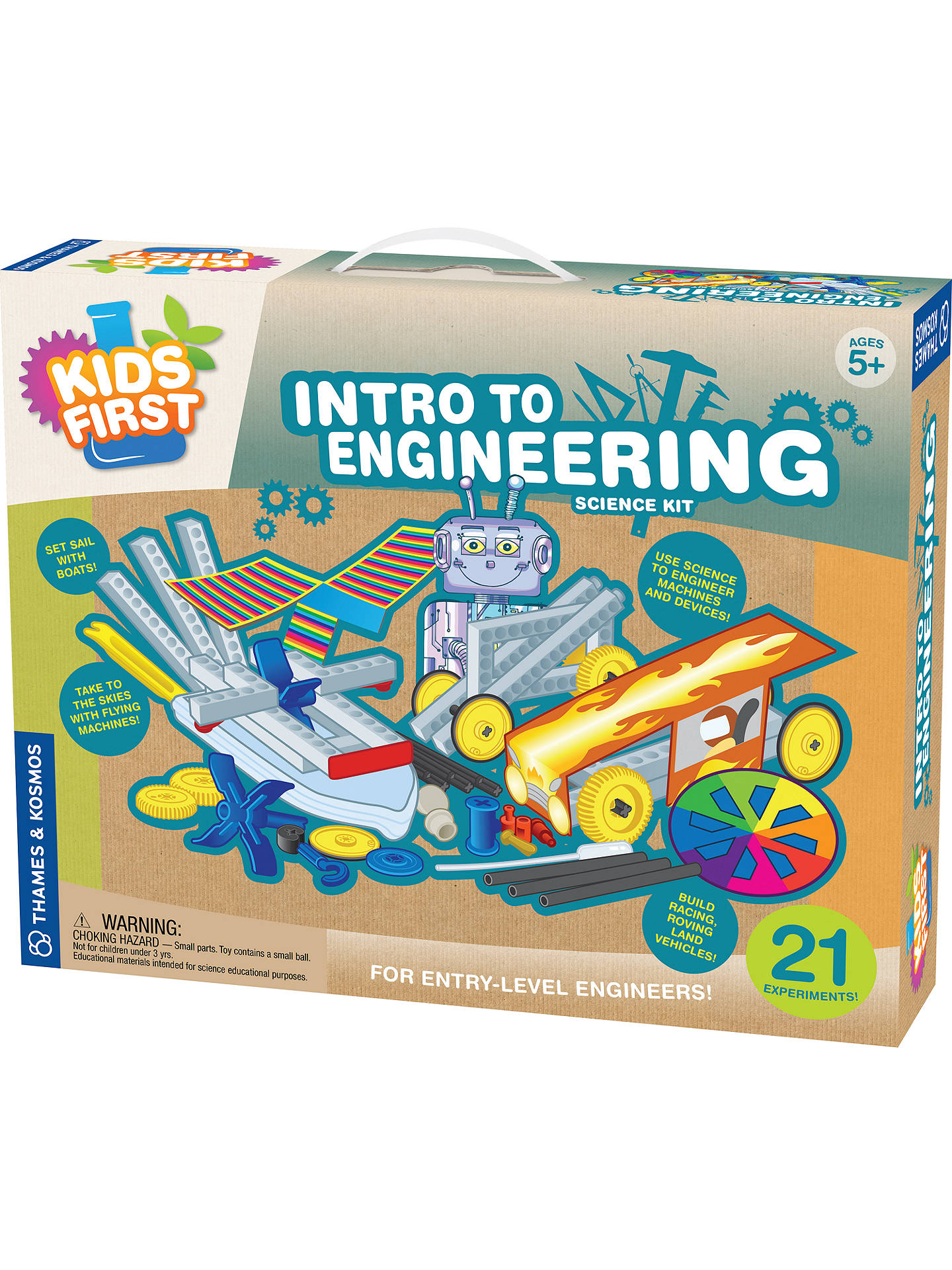 180929674 Buy Thames & Kosmos Little Labs Intro To Engineering Science Kit Online at  johnlewis. ...