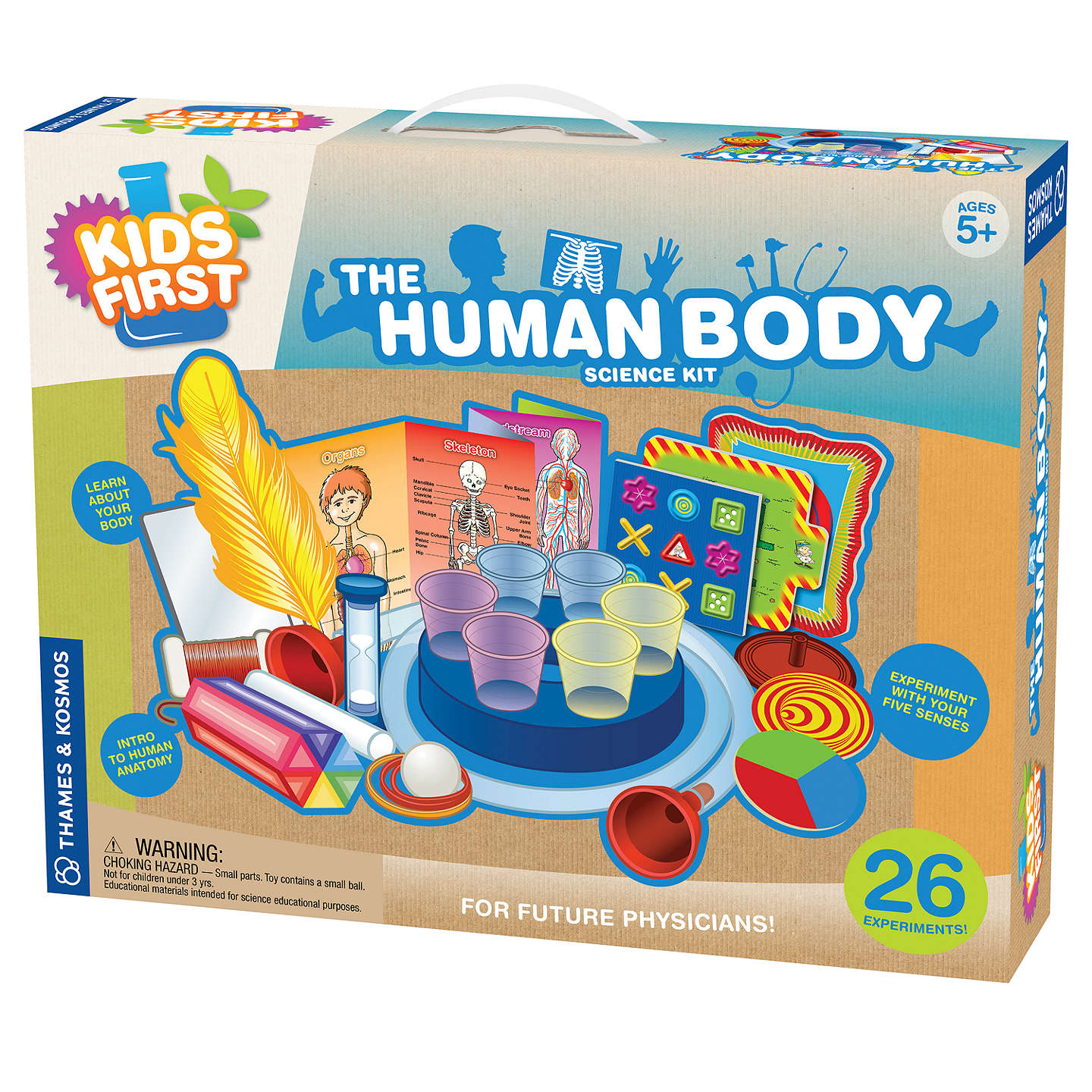Thames & Kosmos Little Labs The Human Body Science Kit at John Lewis