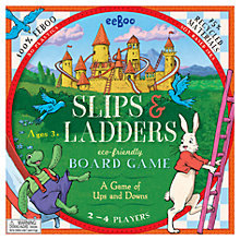 Buy Eeboo Slips & Ladders Board Game Online at johnlewis.com