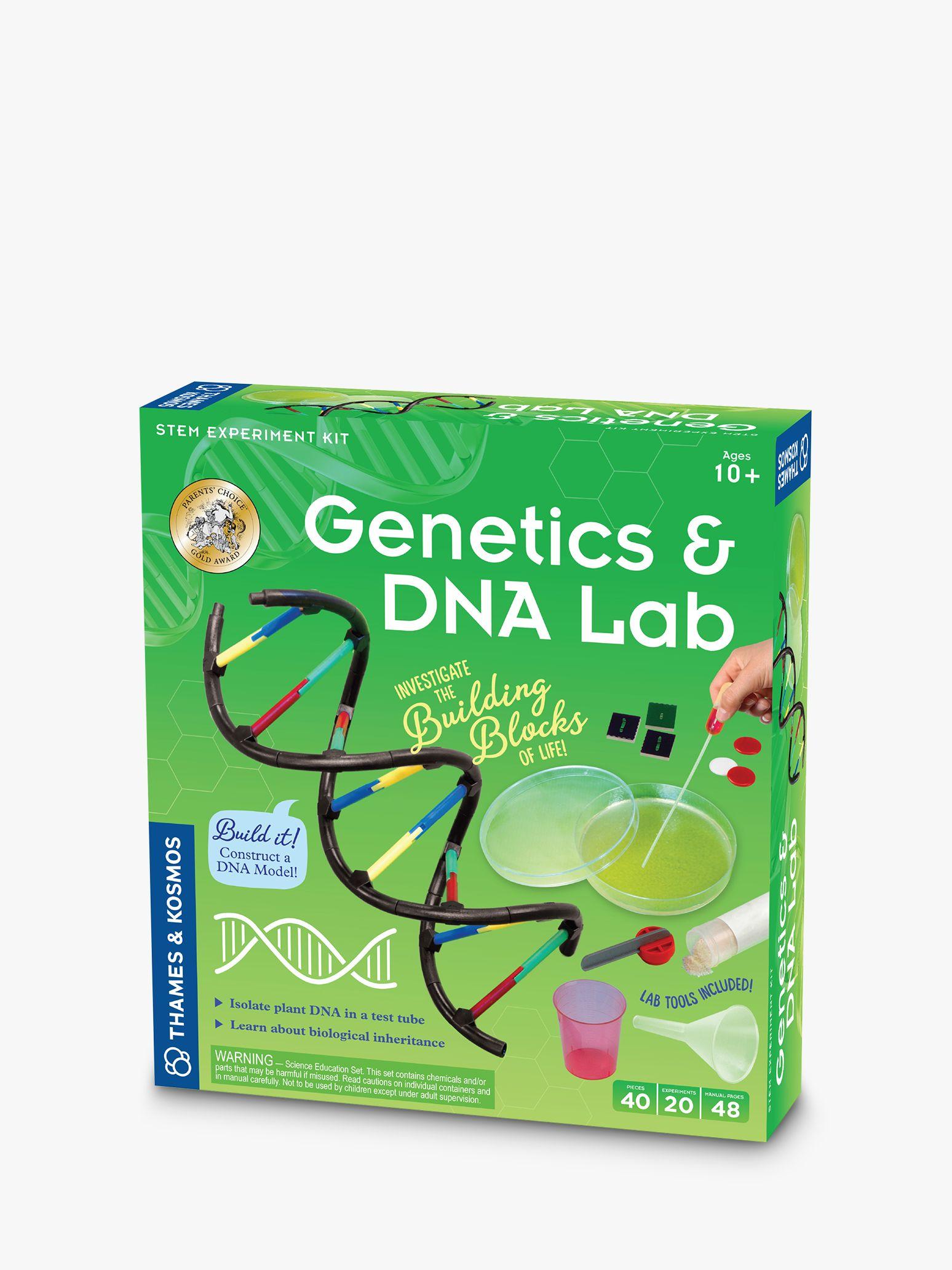 Thames & Kosmos Thames & Kosmos Genetics & DNA Experiment Kit