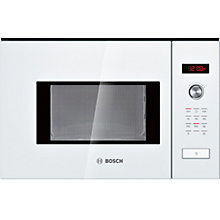 Buy Bosch HMT75M624B Built-In Microwave, White Online at johnlewis.com