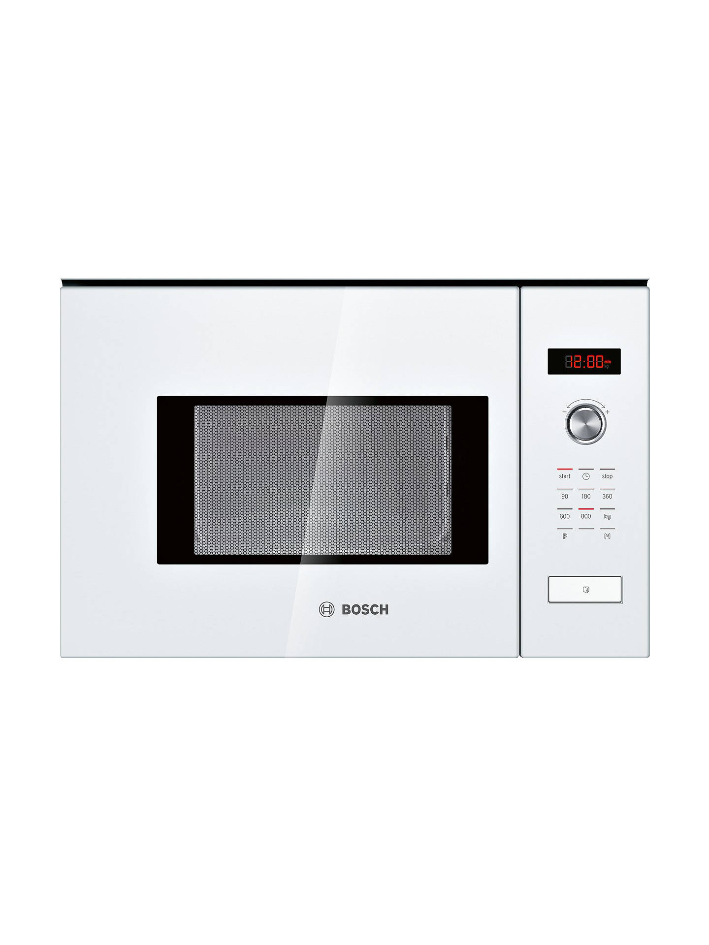 Bosch Hmt75m624b Built In Microwave Oven White Online At Johnlewis