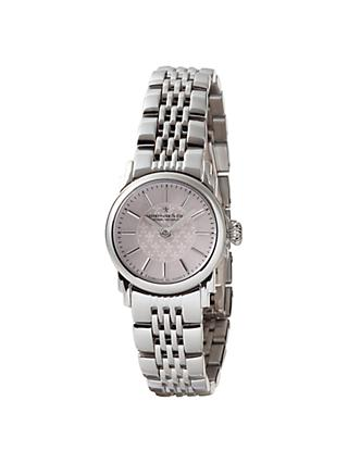 Dreyfuss & Co Women's Mother Of Pearl Dial Bracelet Strap Watch