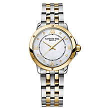 Buy Raymond Weil 5391-STP00995 Women's Tango Mother Of Pearl Two Tone Bracelet Strap Watch, Silver/Gold Online at johnlewis.com
