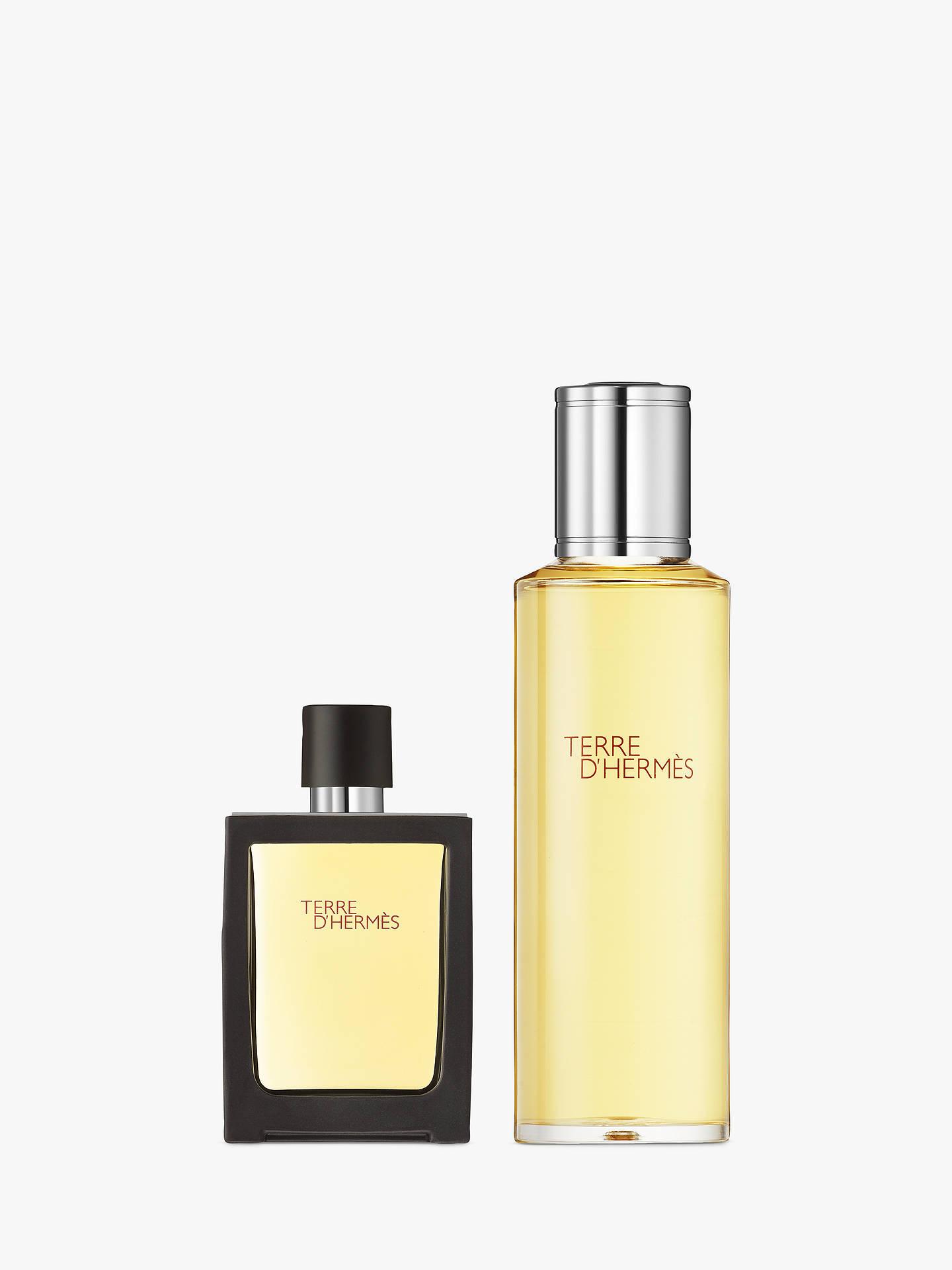Hermès Terre Dhermès Parfum 30ml Recharge 125ml At John Lewis