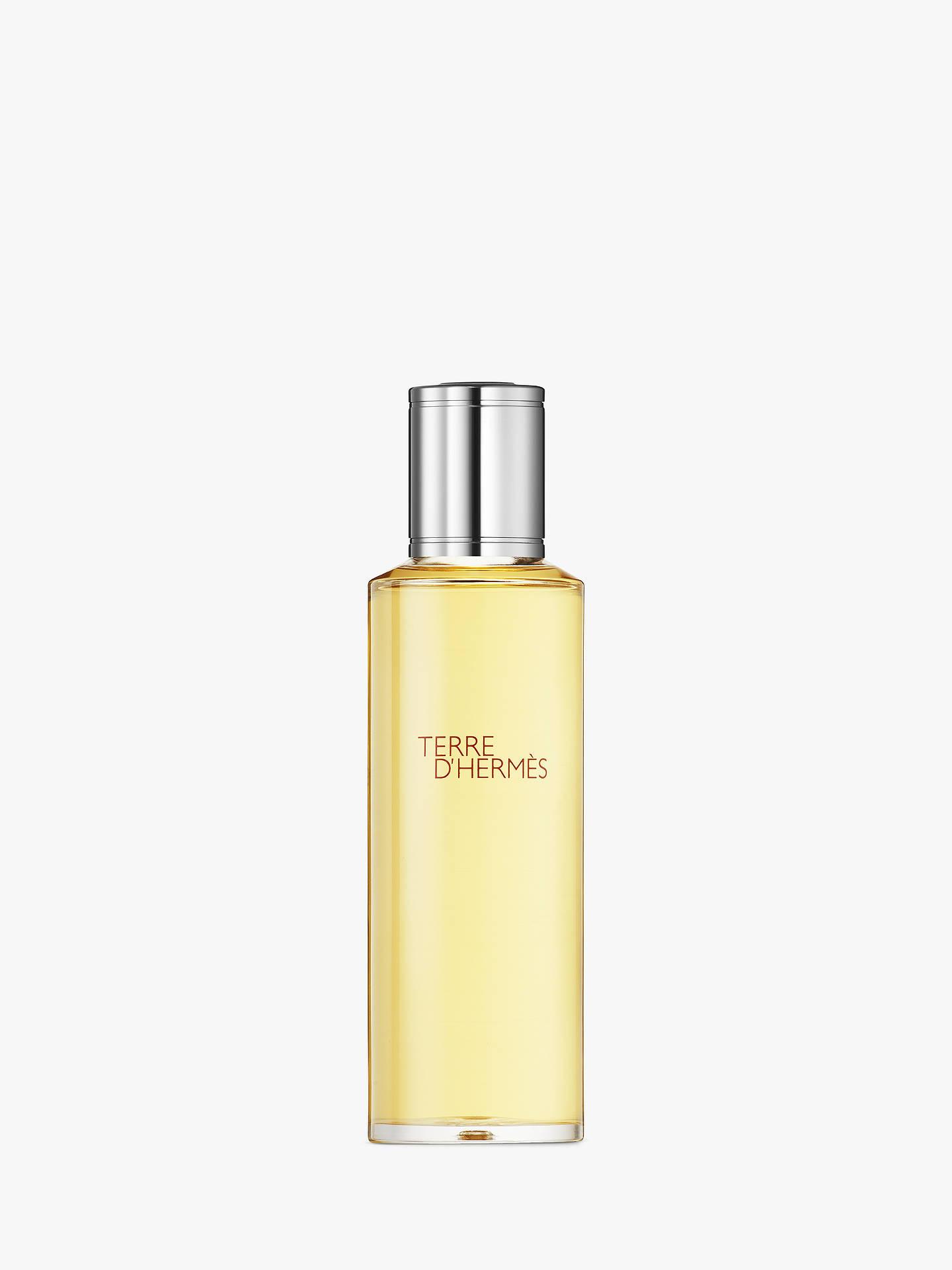 Hermès Terre Dhermès Parfum Recharge 125ml At John Lewis Partners