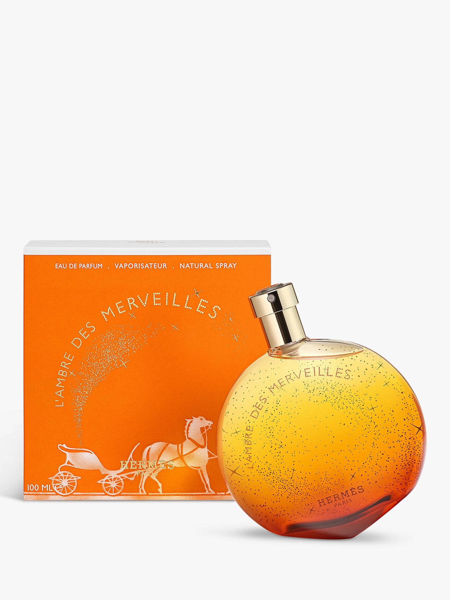 Hermès Lambre Des Merveilles Eau De Parfum At John Lewis Partners